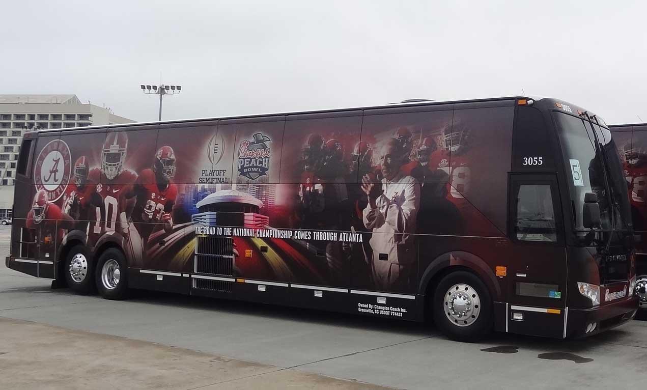 Champion Coach Custom Graphics Alabama